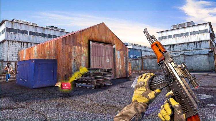 OPS First Shooting Game 3D screenshot-4