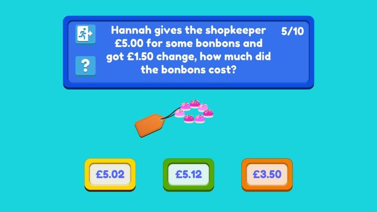 Happy Shoppers: Money maths! screenshot-6