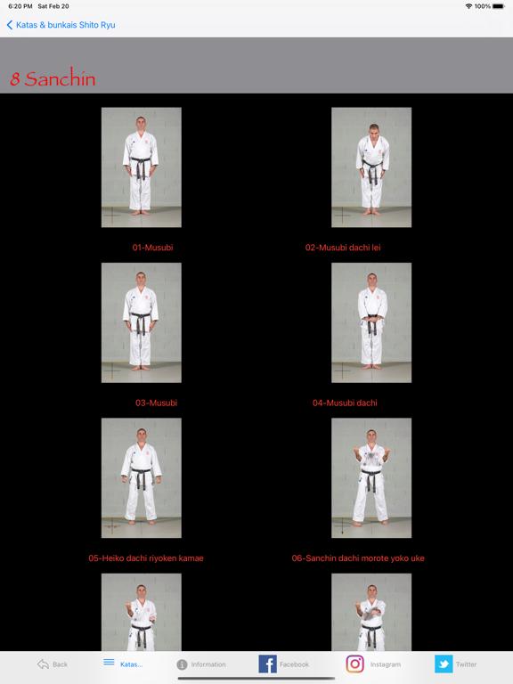 KATAS SHITO-RYU2 screenshot 11