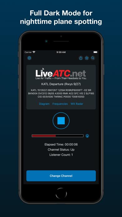LiveATC Air Radio Screenshot