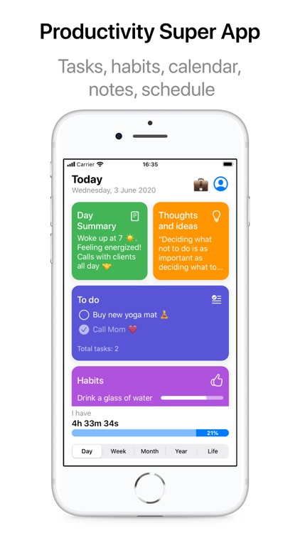 LifeViewer - Daily Planner