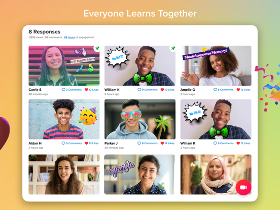 iPad Image of Flipgrid.
