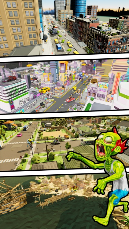 Zombie.io Monster Battle City screenshot-4