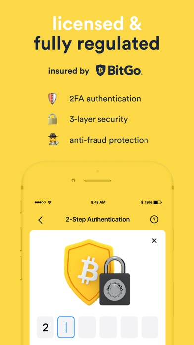 Crypterium | Bitcoin WalletСкриншоты 7