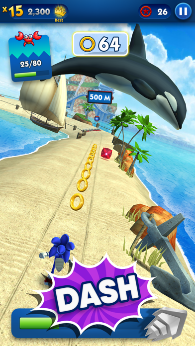 Screenshot from Sonic Dash - Endless Running