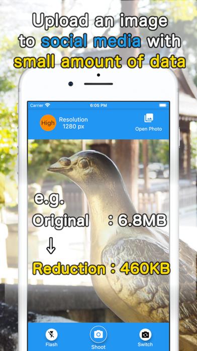 Reduction Camera screenshot 2