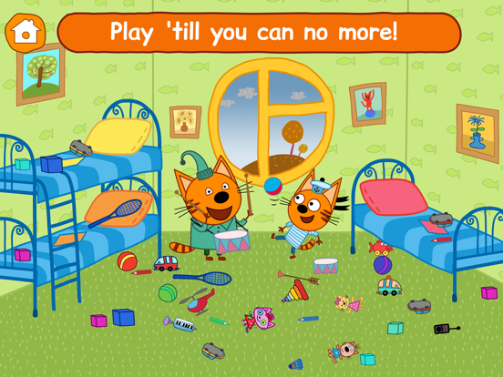 Ipad Screen Shot Kid-E-Cats: Little Kids Games! 5