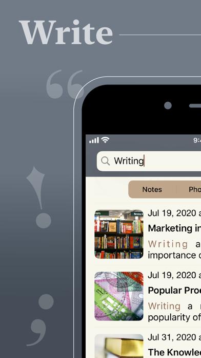 Notewrap - Book & Blog Writer屏幕截图1