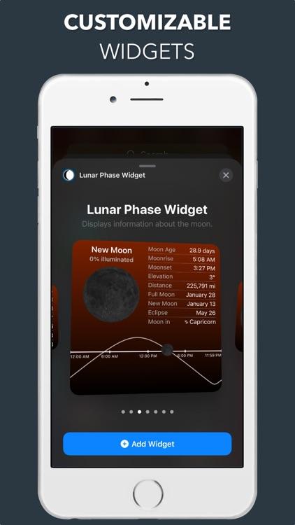 Lunar Phase Widget screenshot-4