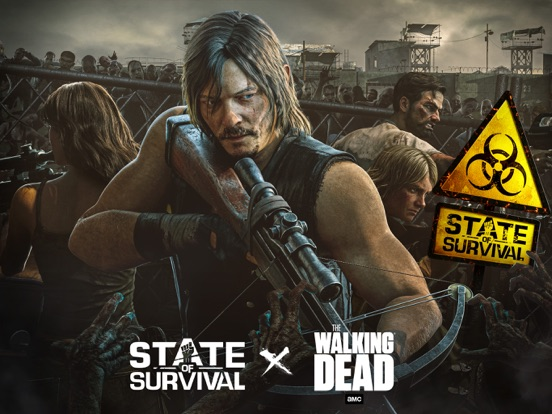 iPad Image of State of Survival Walking Dead