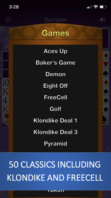 Solitaire by Solebon screenshot four