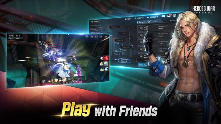 Heroes War: Counterattack screenshot-3