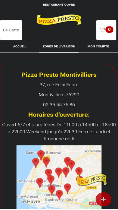 点击获取Pizza Presto Montivilliers