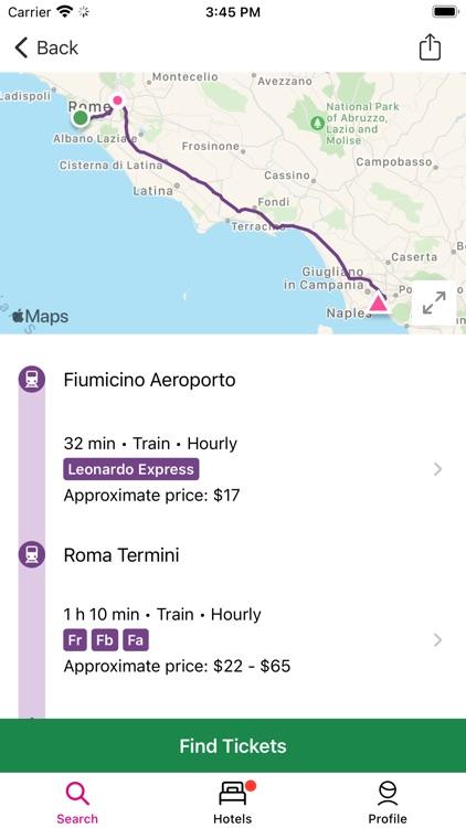 Rome2rio: Trip Planner screenshot-3