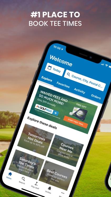 GolfNow Book TeeTimes Golf GPS