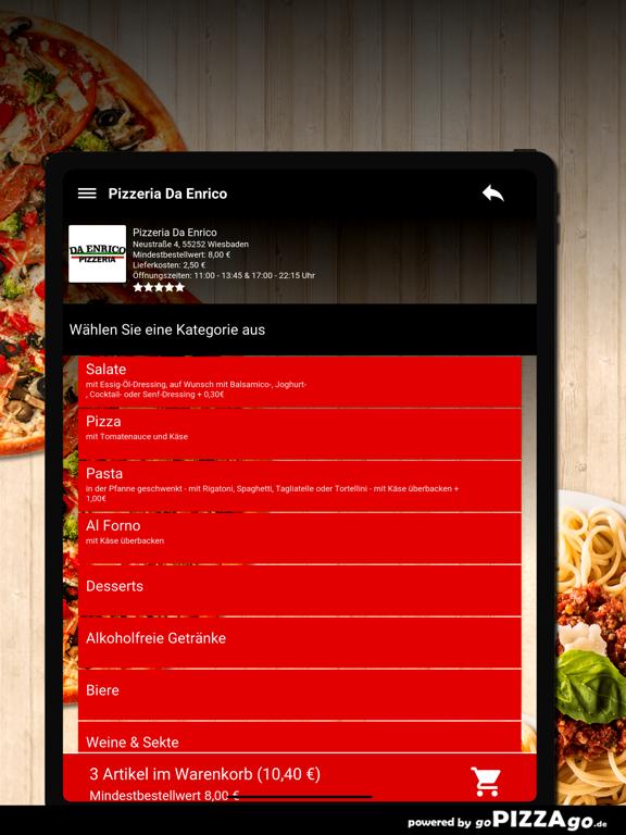 Pizzeria Da Enrico Wiesbaden screenshot 8