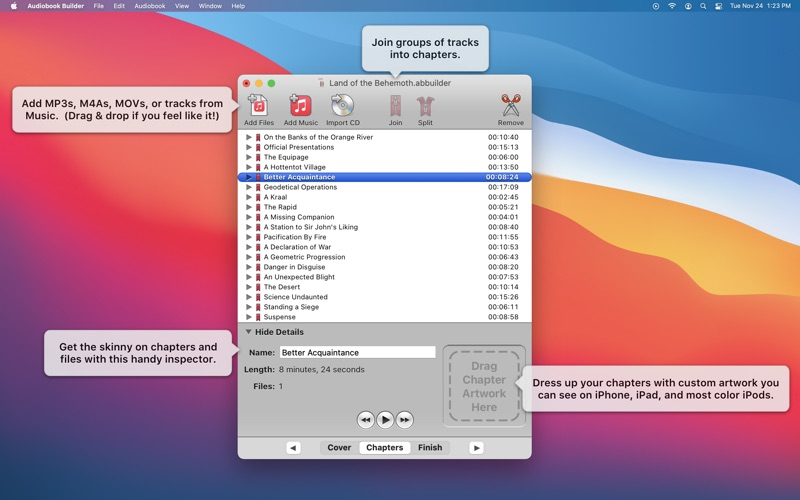 Audiobook Builder 2 Screenshots