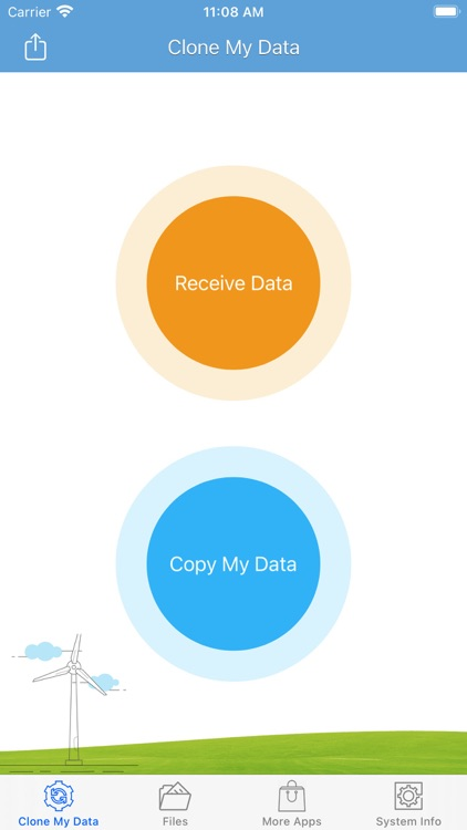 Clone My Data - Fast Transfer