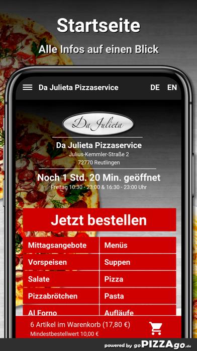 Da Julieta Reutlingen screenshot 2