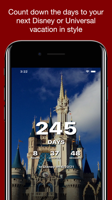 Countdown for Disney Vacation Screenshot