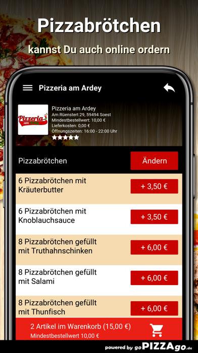 Pizzeria am Ardey Soest screenshot 5