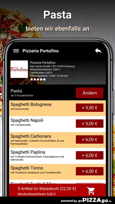 Pizzeria Portofino Duisburg screenshot 6