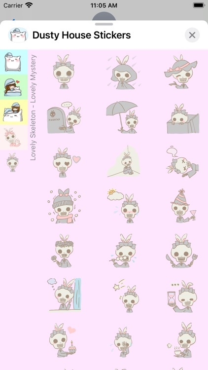 Dusty House Stickers screenshot-5