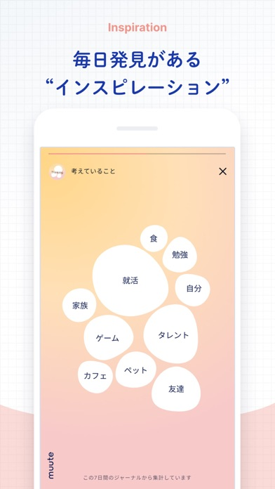muute (ミュート) - AIジャーナリングのおすすめ画像4