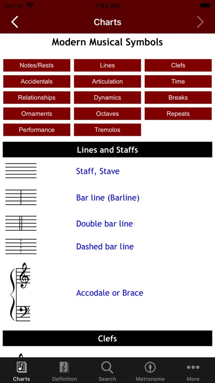 MusicTools Music Dictionary screenshot-3
