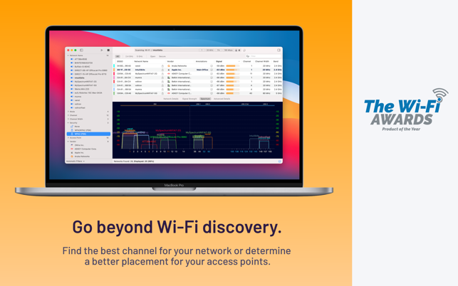 ‎WiFi Explorer Screenshot