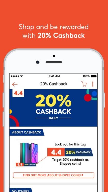 Shopee 4.4 Mega Shopping Sale screenshot-3