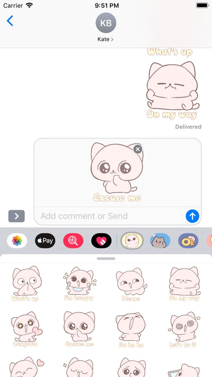 Funny Puppy Stickers Pack
