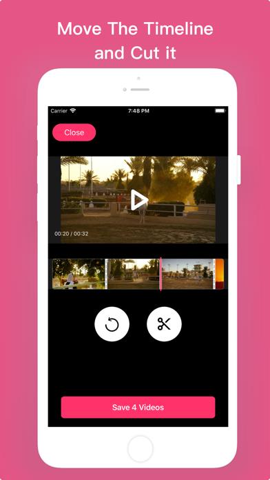 Video Trim -Cut And Clip Video screenshot 3