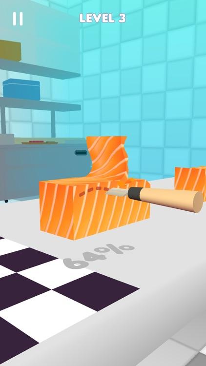 Sushi Roll 3D - ASMR Food Game