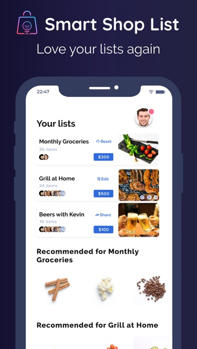 Smart Shop List для ПК 1