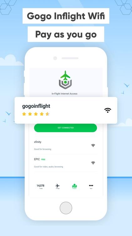 Wificoin: Gogo Inflight + eSim