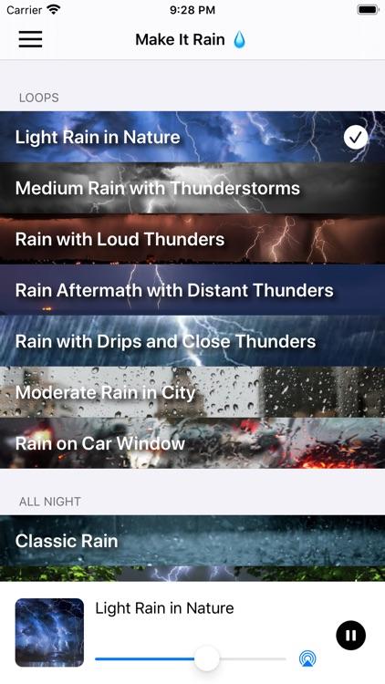Make It Rain - Sleep Better