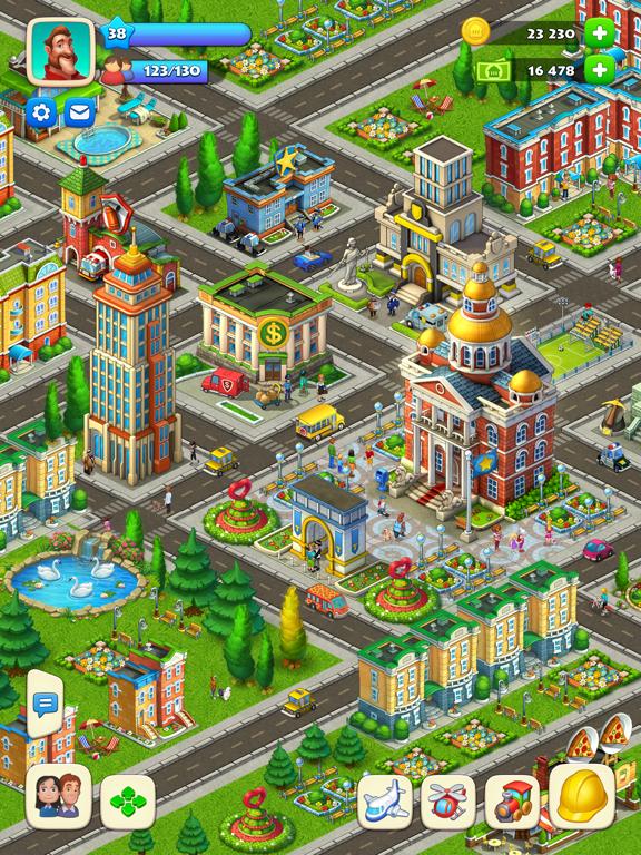 Township iPad app afbeelding 6