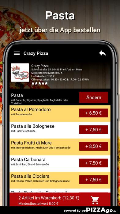 Crazy Pizza Frankfurt am Main screenshot 1