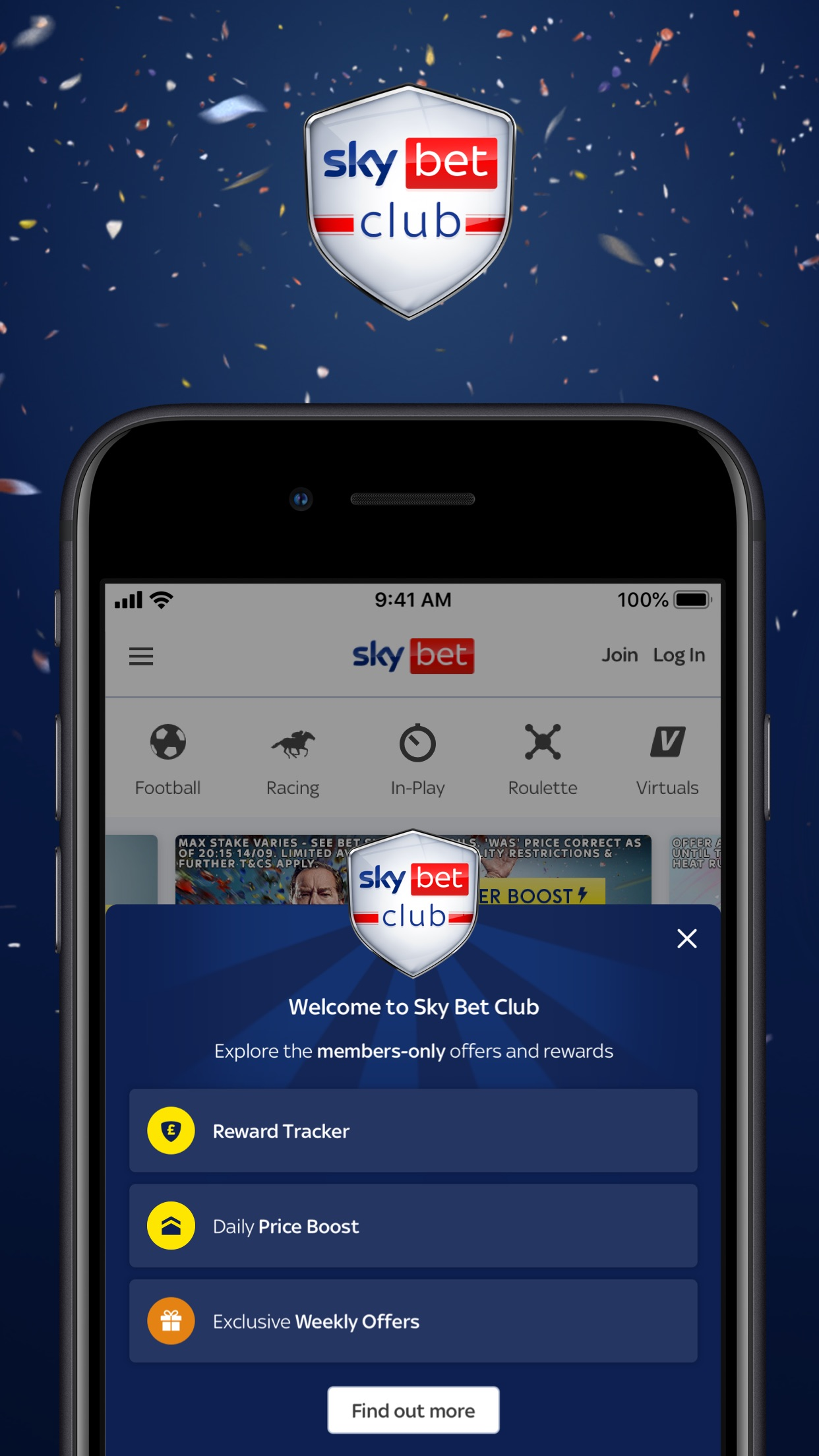 Sky Bet - Sports Betting Screenshot