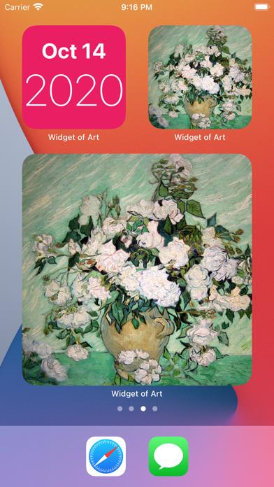 Widget of Art screenshot 2