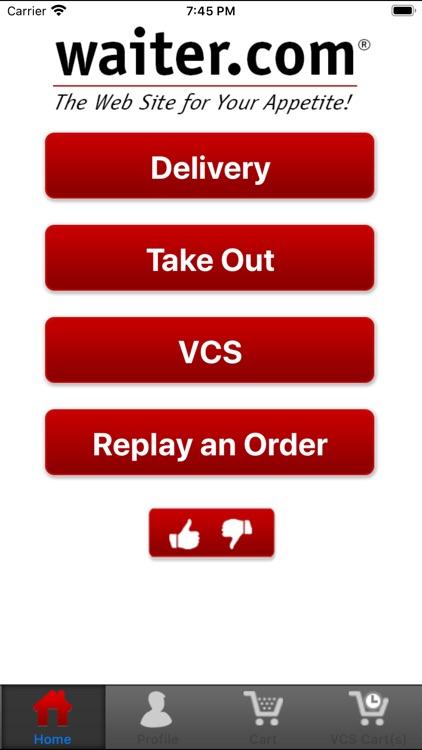 Waiter.com Food Delivery screenshot-3