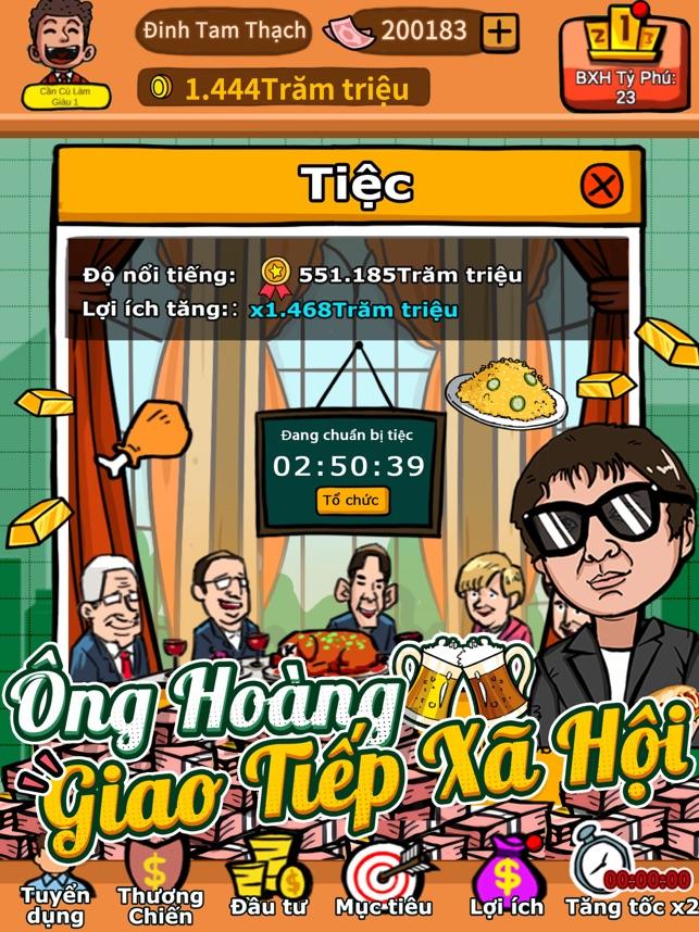 Idle Tycoon-Lão Tử Lắm Tiền