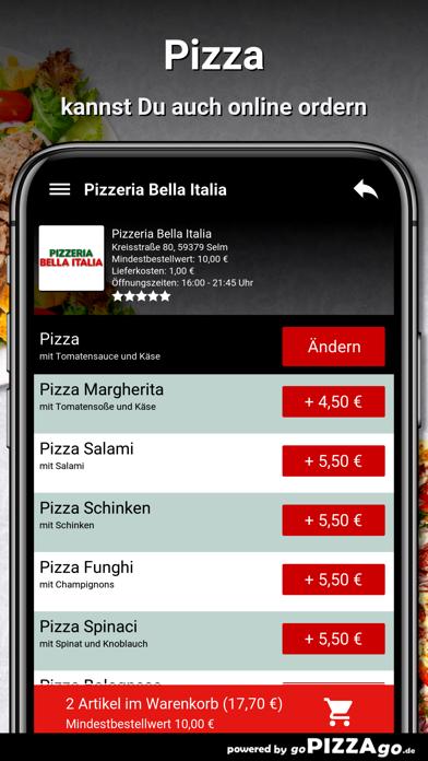 Pizzeria Bella Italia Selm screenshot 5