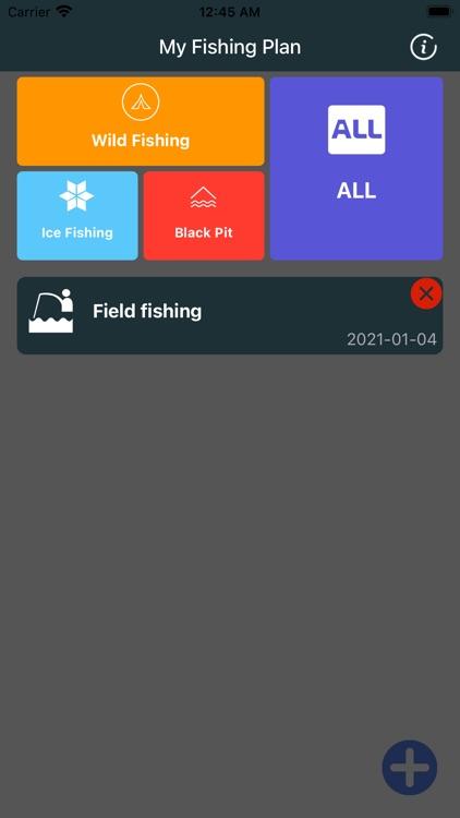 My Fishing Plan