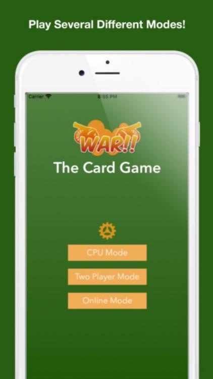 The Card Game: War