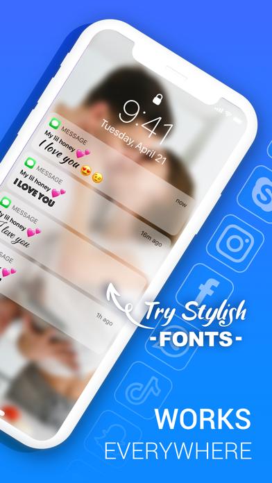 Fonts X - Keyboard for iPhoneのおすすめ画像2