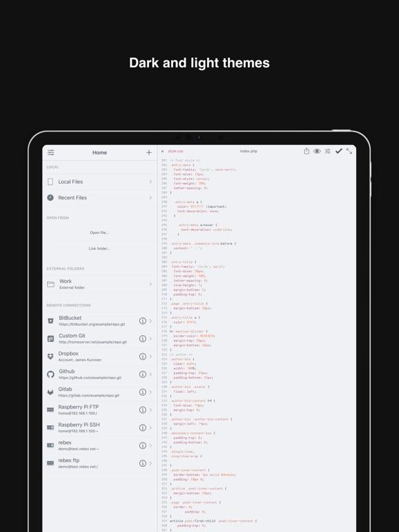 Buffer Editor - Code Editorのおすすめ画像5