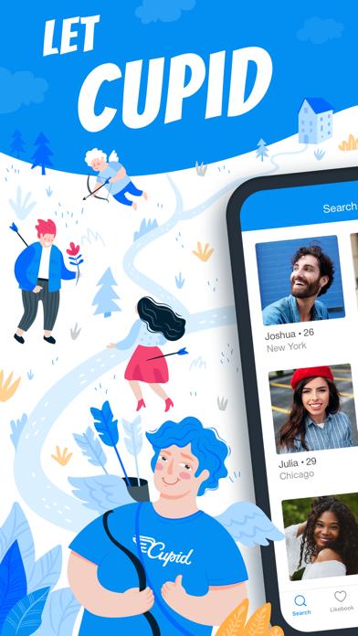 Cupid Dating - Chat & Meet Screenshot