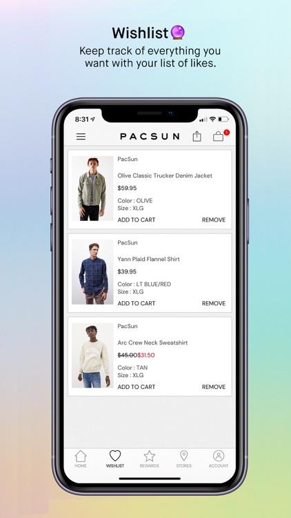 PacSun screenshot-5